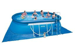 Intex 28192 Надувной бассейн Oval Frame Pool (549х305х107 см)